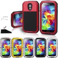 Doskonałą ochronę uniwersalne silikonowe etui telefon Dla Samsung galaxy S5 silikon PC Pokrywa Dla Samsung S5 i9600 Shell