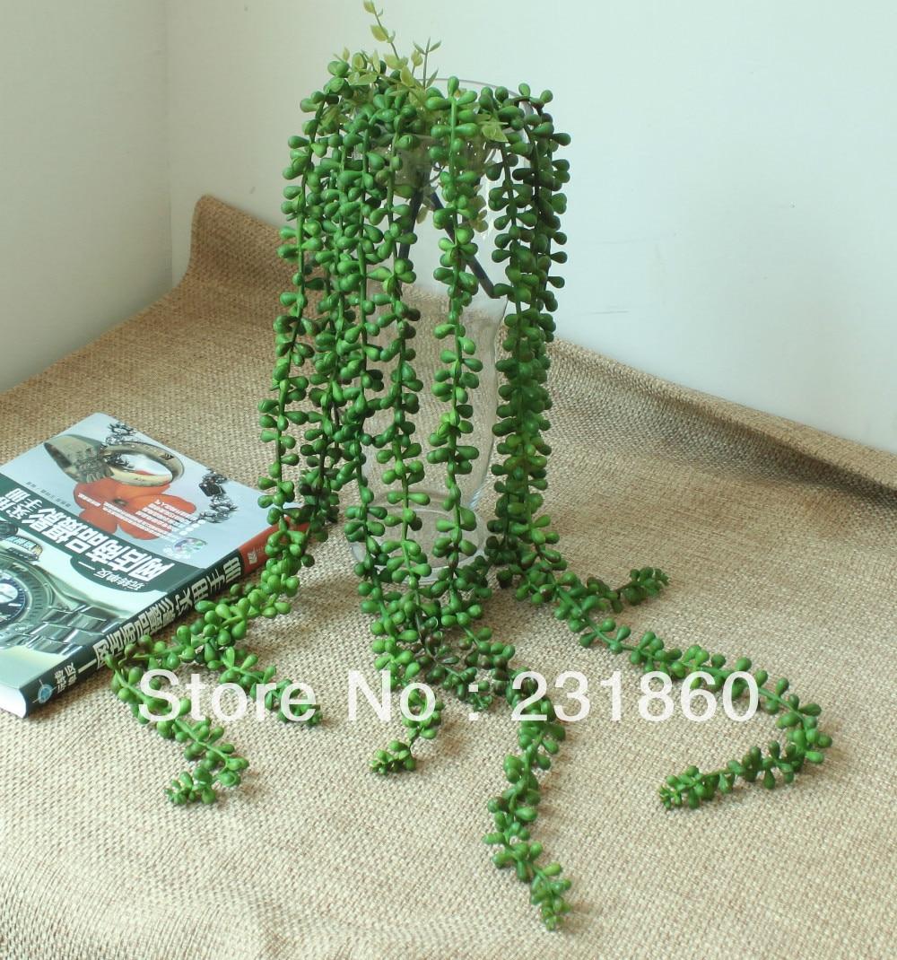 1 x artificial green leaves ivy vine foliage plant garland wedding