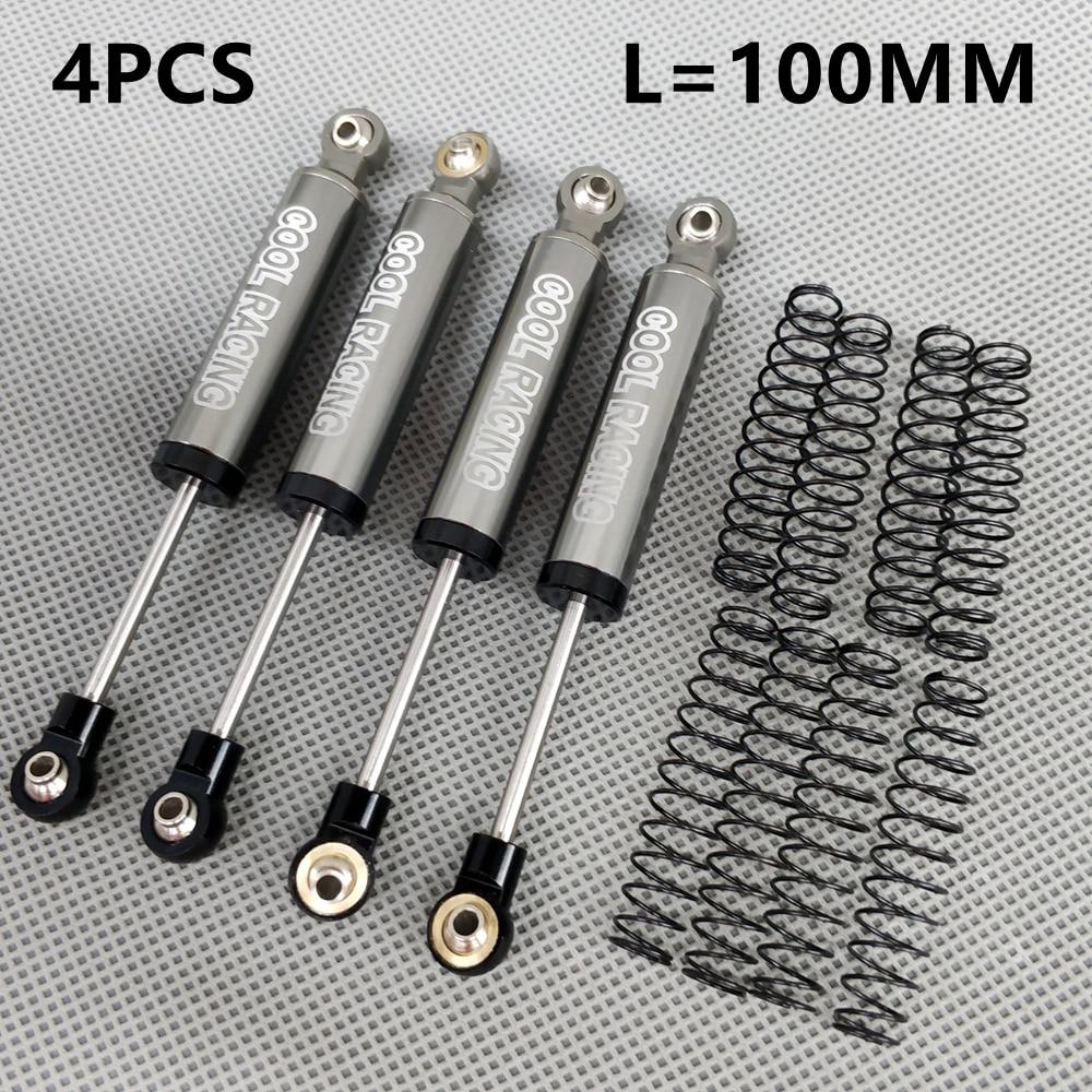 Alloy Metal Piggyback Shock Absorber for 1//10 RC Car D90 Trx4 SCX10 Wraith JEEP