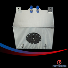 PQY RACING-30L Aluminium Fuel  Surge tank mirror polished Fuel cell foam inside, without sensor PQY-TK67