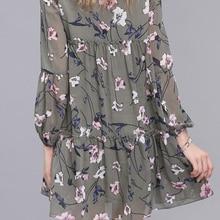 Women Summer Autumn  Floral Dress Ethnic Plus Size
