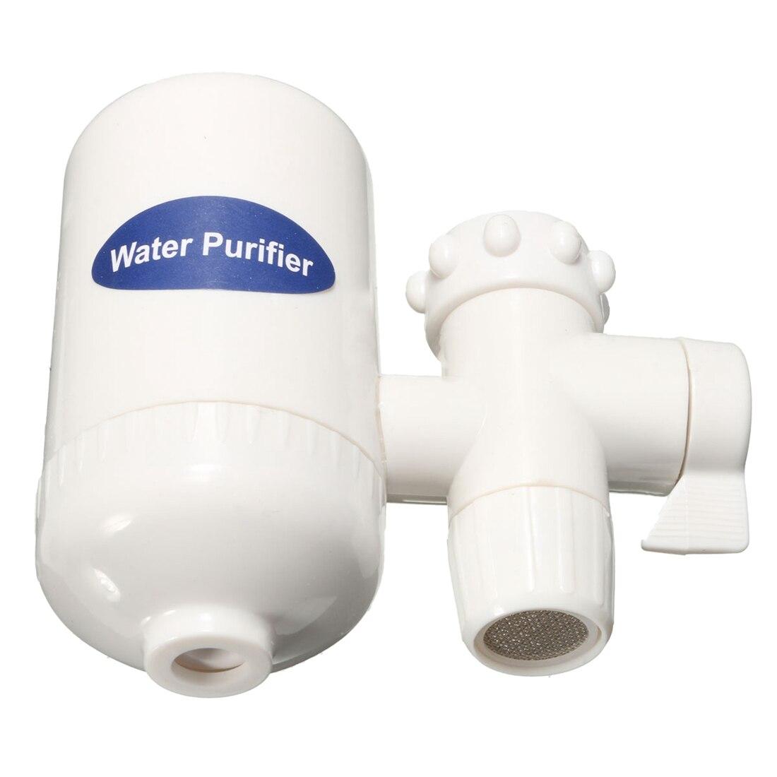 Кран фильтр для воды технологии Nano-KDF домашняя кухня очищаемой керамический картридж смеситель для ванны коснитесь Фильтр для воды