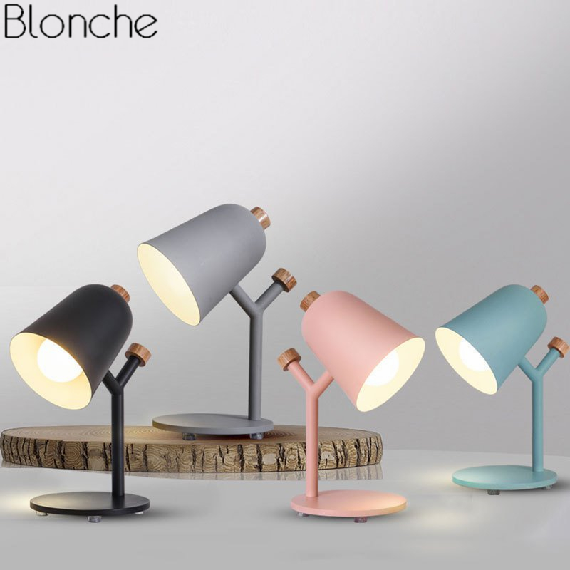 Nordic Modern Branches Table Lamp for Living Room Bedroom Bedside Lamp Led Iron Wood Stand Desk Light Reading Home Deco Fixtures набор раскрась и собери калейдоскоп