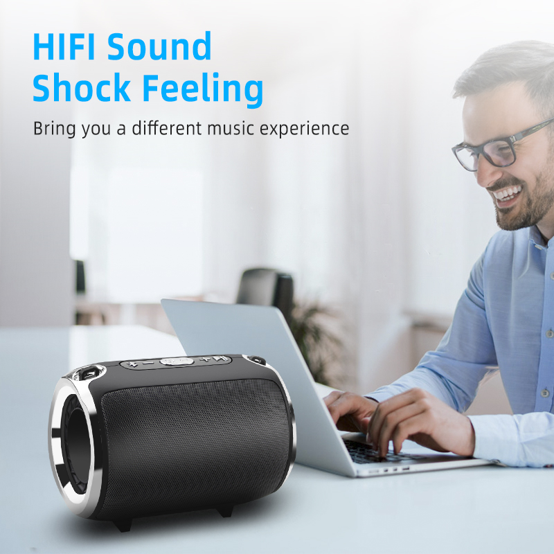 Image 2 - NBY Bluetooth Wireless Speaker Stereo Column  HIFI Portable 