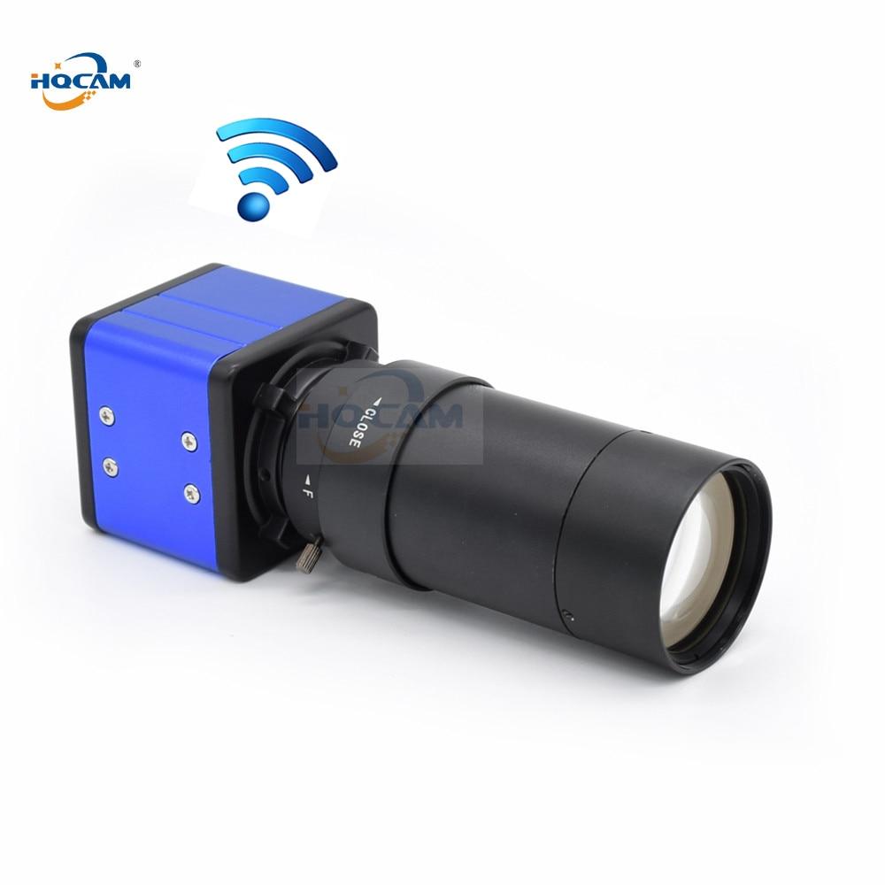 HQCAM Wireless wifi 5 100mm Manual Zoom IPC 1 2 8 SONY IMX323 sensor Hi3516C CCTV