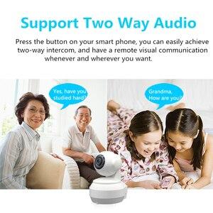 Image 2 - كاميرا واي فاي لاسلكية 3G 4G 1080P 720P HD بطاقة SIM موبايل أمن الوطن مراقبة IP كاميرا للرؤية الليلية مراقبة الطفل Onvif