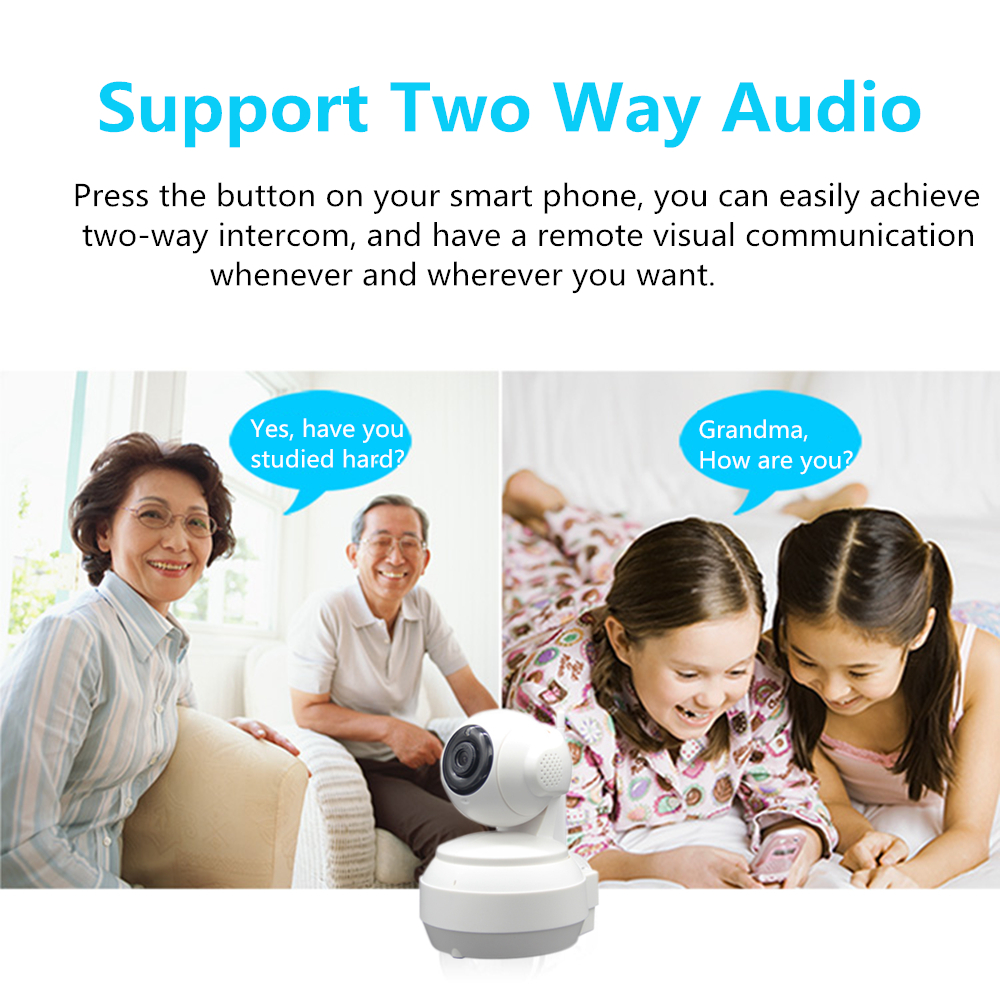 Image 2 - 3G 4G Wireless WiFi Camera 1080P 720P HD SIM Card Mobile Home Security Surveillance IP Camera Night Vision Baby Monitor Onvif-in Surveillance Cameras from Security & Protection
