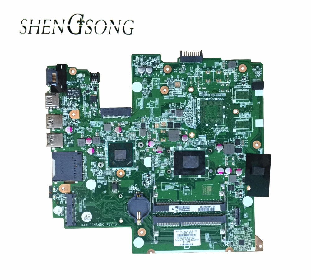 714618-001 714618-501 for HP Pavilion Sleekbook 14-B060 14-B laptop motherboard DA0U33MB6D0 I3-2367M CPU fully tested working original 615279 001 pavilion dv6 dv6 3000 laptop notebook pc motherboard systemboard for hp compaq 100% tested working perfect