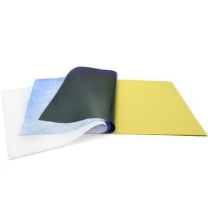Image 4 - 10 יח\סט קעקוע סטנסיל פחמן תרמית התחקות הקטוגרף העברת עותק נייר