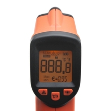 Durable AN320A Laser LCD Digital Thermometer Non-Contact IR Infrared Temperature Meter hot tm750h environment laser infrared ir thermometer hygrometer humidity non contact lcd digital temperature meter 50 800c