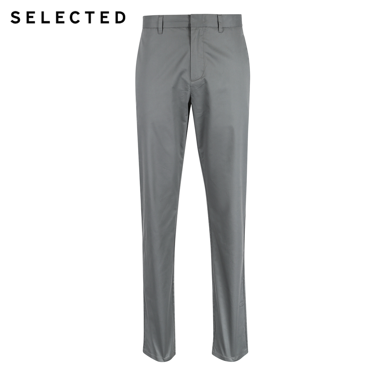 Image 5 - SELECTED  cotton business leisure straight leg long pants S4182W2511-in Casual Pants from Men's Clothing