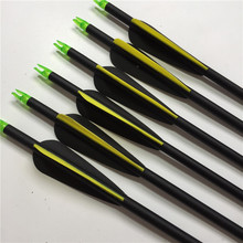 "6pc SP 750 Fiberglass Arrow Is 30 ""3"" Water Drop Cutting Plastic Blades For The 7.8 Mm For Outdoor Reflection Bows Hot Sale"