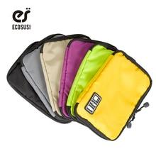 Ecosusi электронные аксессуары организаторы сумка для жесткого диска организаторы для наушников кабели usb флэш-накопители путешествия цифровой мешок