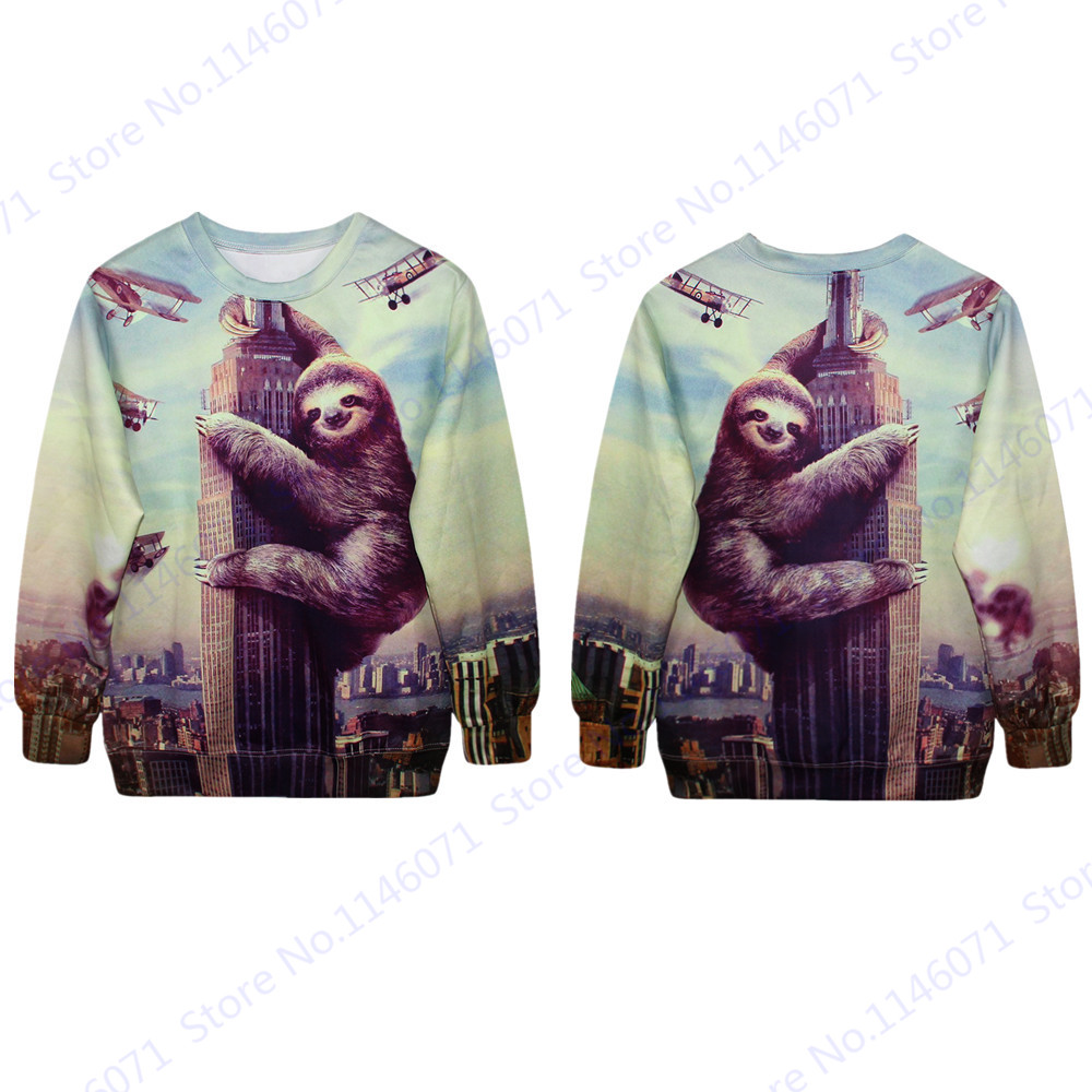 Popular Sloth Sweater-Buy Cheap Sloth Sweater lots from China ...