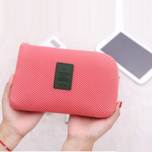 Shockproof Travel Digital Storage Bag Portable USB Cable Charger Earphone Cosmetic Pouch Organizer Case