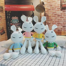 Hot Sale Sleeping Rabbit Plush Toy Stuffed Animal Doll Soothe Gift For Children Kids