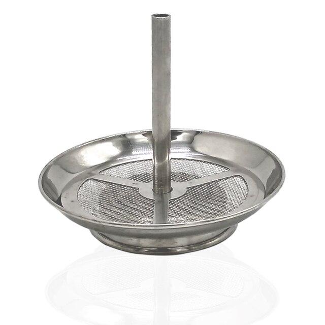 Soporte de carbón de Shisha de Metal dos en uno para tubería de agua/Hookah/Sheesha/Chicha/Narguile accesorios de cuenco de tabaco SH706
