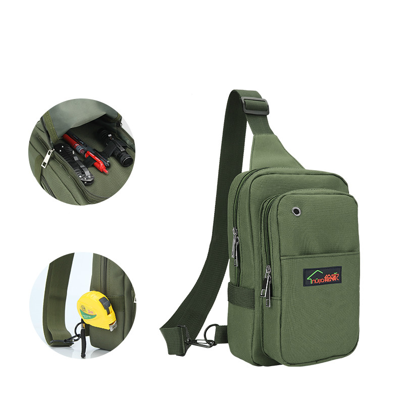 Customer service maintenance electrician kit small backpack portable multifunctional Leisure Canvas tool shoulder bag