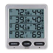 WS 10 Ambient Weather Wireless LCD font b Digital b font font b Thermometer b font