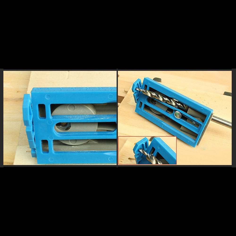 AMYAMY Dřevoobráběcí systém kapesních otvorů Přípravek s - Příslušenství elektrického nářadí - Fotografie 4