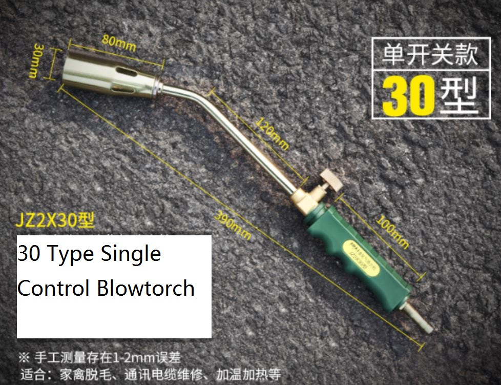 Blowtorch Weed Burner Professional Liquefied Gas Torch For