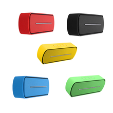MAHA Hot Mini Speaker Bluetooth Wireless Stereo Music Speaker w / Mic For iphone samsung pc red/balck/yellow/blue/green