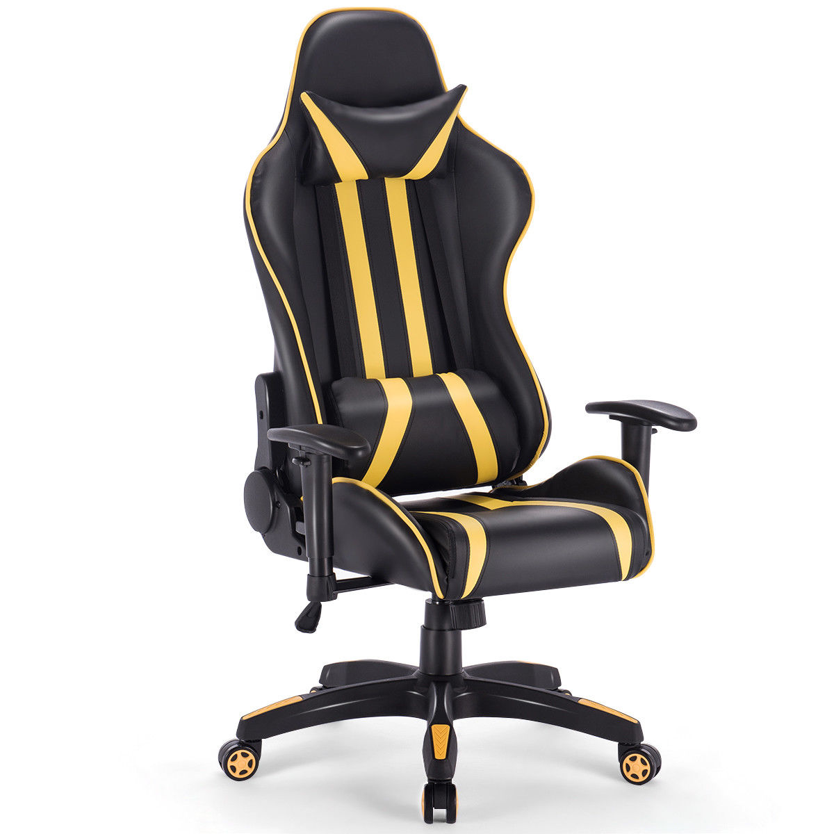 Home Office High Back Gaming Chair Racing Reclining Chair Swivel