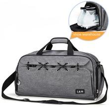 Sport Bags with Dry Wet Separation Outdoor Travel Swimming Fitness Bag Men Women Training Gym Bag Shoulder Handbag Yoga Bags недорого