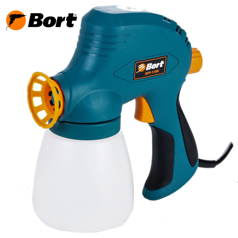 Paint spray gun Bort BFP-110N sat0083 hot on sales spray guns for car painting paint cup pneumatic compressor machine