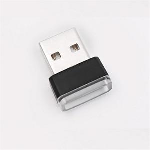 Image 4 - QCDIN 1Pc USB LED Mini Wireless Car Indoor Lighting Atmosphere Decorative Lamp For Car LED Interior Lighting Indoor Light