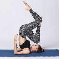Breathable And Comfortable Yoga Pants Fitness Women Running Sports Casual Skinny Tight And Quick Drying