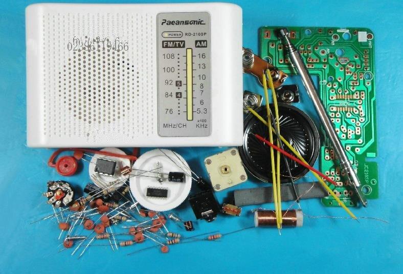 Free Shipping! 1pc AM / FM stereo AM radio kit / DIY CF210SP electronic production suite module sensor