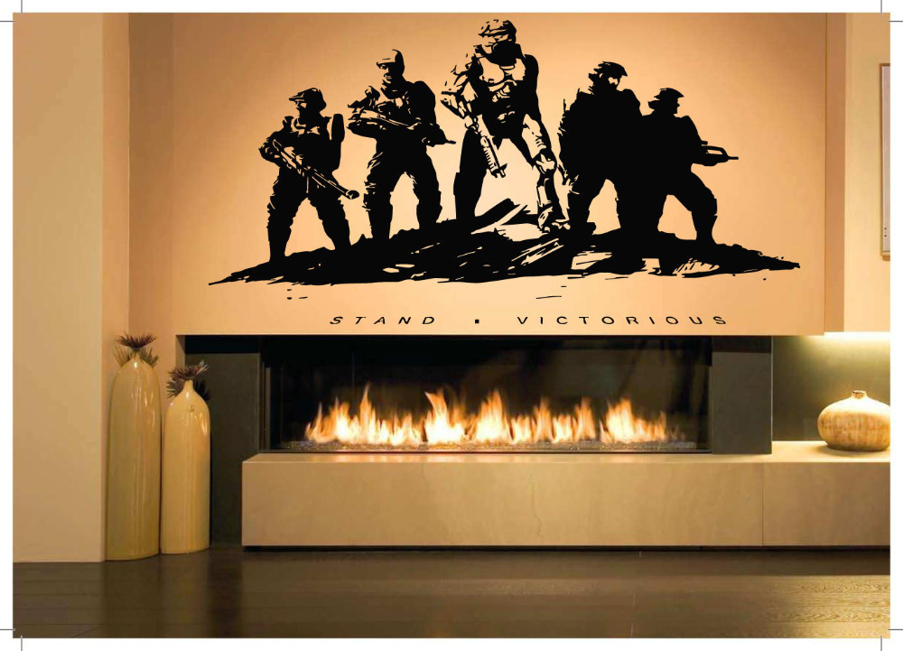 Wall Room Decor Art Vinyl Sticker Mural Decal Military Poster Soldiers War  22x35inch In Wall Stickers From Home U0026 Garden On Aliexpress.com | Alibaba  Group