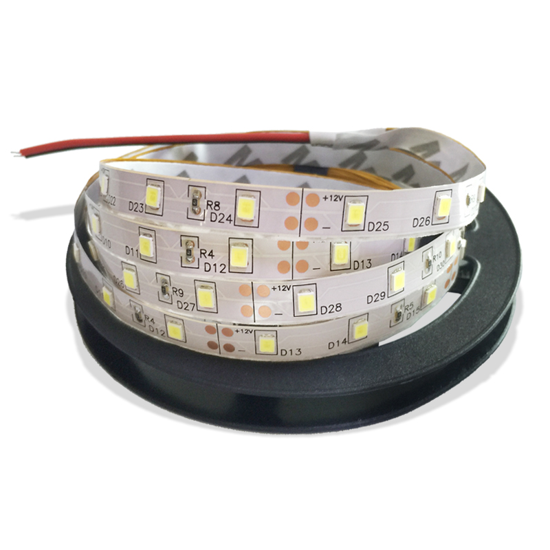 Flexible Led Light Strip 3528 Smd 12 Volt Quality Lighting: 3528 SMD LED Strip Light 12V 5M 60Leds/M IP20 300LEDs
