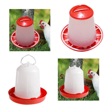 Chicken Drinking Fountains Water Bowl Drinker Cups for Backyard Chicken Flock Automatic Poultry Water Supplies