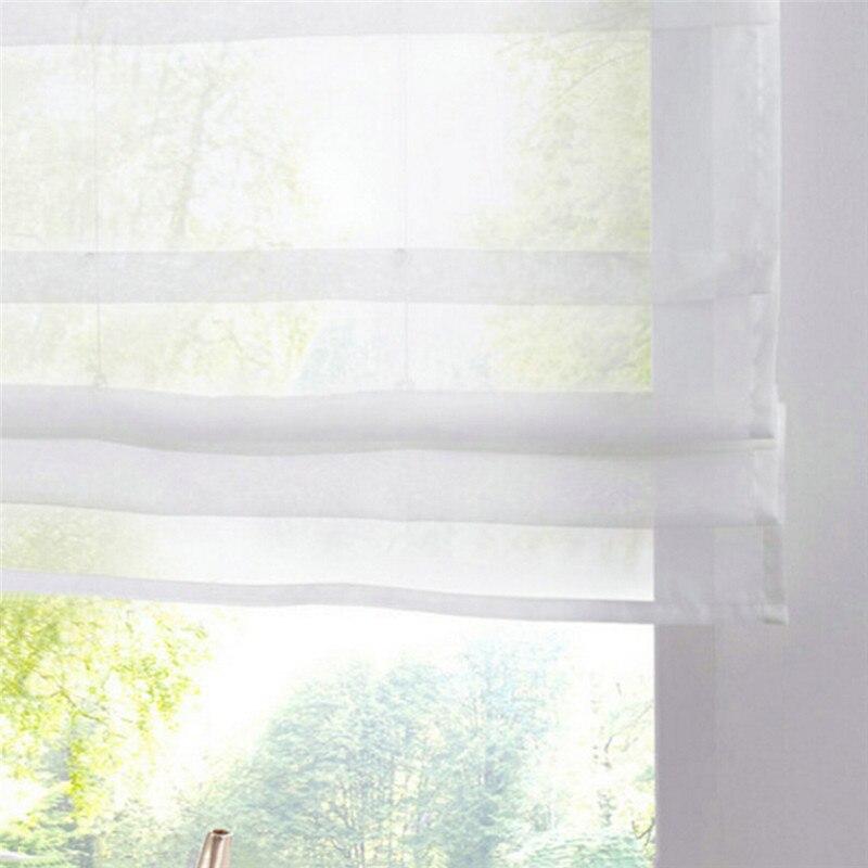 reine farbe rmischen jalousien balkon kche fenster vorhang dusche holz perle dekorative bad duschvorhang haken in reine farbe rmischen jalousien balkon - Vorhang Dusche Fenster