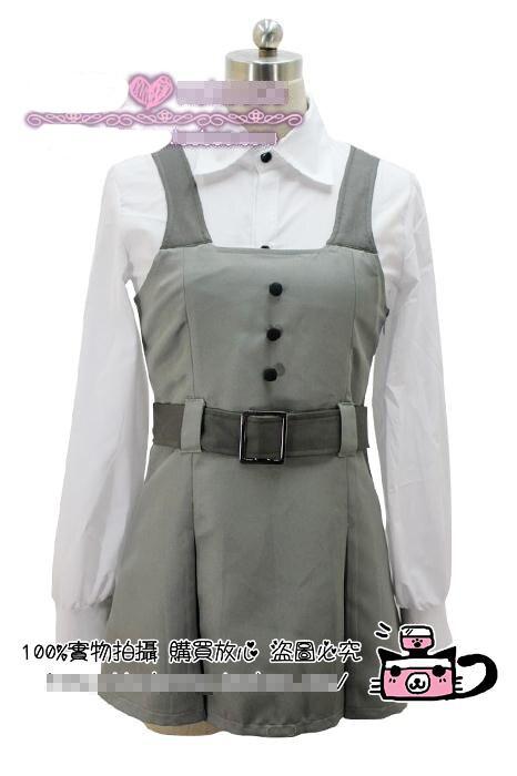 65e32f1e029 Игры аниме Shirakiin Ririchiyo ежедневно серые Униформа партия Лолита платье  Косплэй костюм Бесплатная доставка