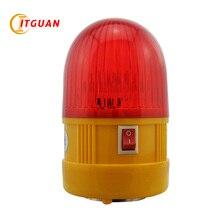 LTD-6081 Батарея Предупреждение светильник Магнитный Батарея Led DC6V мигающий Предупреждение светильник красный/желтый с базой магнита сигнализации Светильник башня