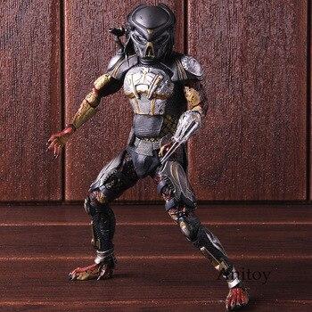 NECA Toys Predator Fugitive Predator Ultimate Figure Action PVC Collectible Model Toy predator concrete jungle figure
