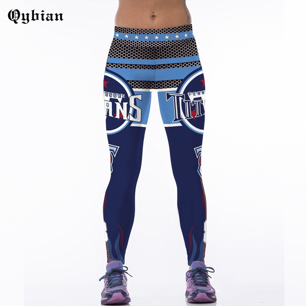 2017 High Quality font b Women b font Fitness Leggings Titan logo Printed Full Length Pants