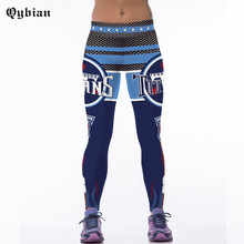 2017 High Quality Women Fitness Leggings Titan logo Printed Full Length Pants Sporting Leggins Jeggings Trouser