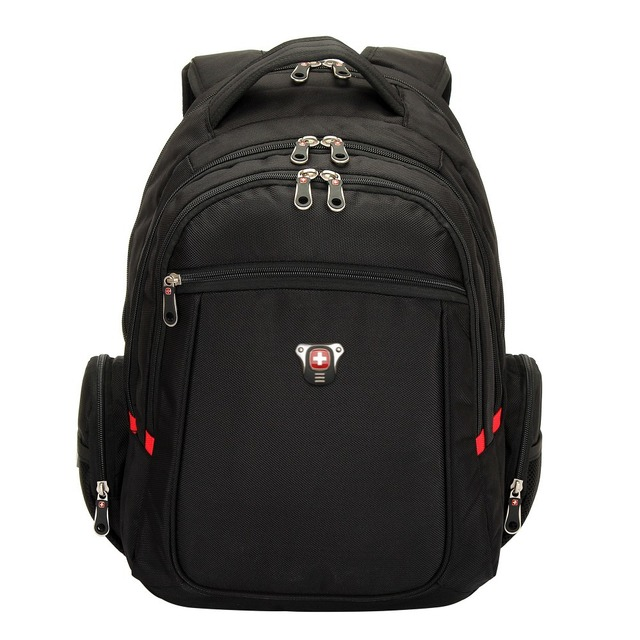 Swiss Gear Black Airflow Padded Backpack Travel Student School ...