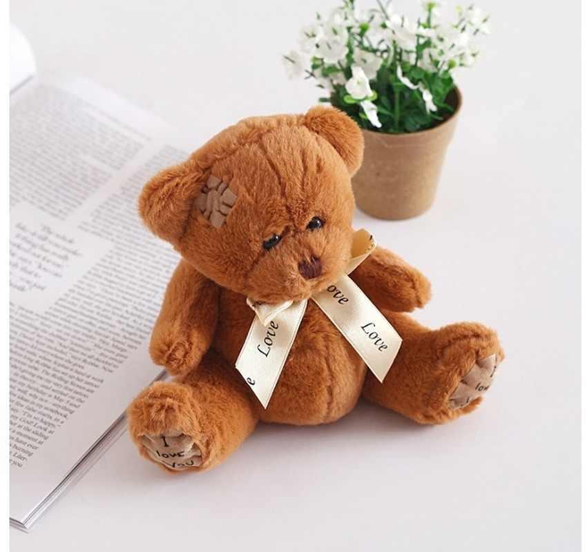 1 шт. 15 см патч медведь куклы Тедди мишка, мягкая игрушка медведь свадебные подарки Детские игрушки подарок на день рождения мягкие игрушки