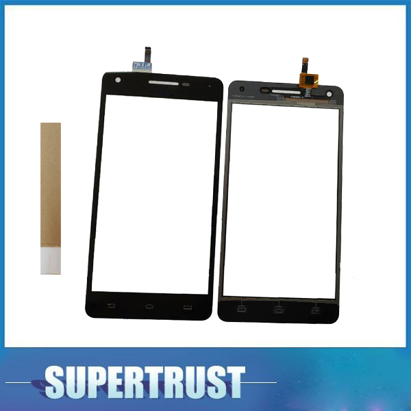 5.0 Inch For Philips Xenium V377 Touch Screen Digitizer Glass Panel Sensor Black Color With Tape