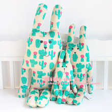 2013 new Hot selling CRAFTHOLIC cactus cute rabbit plush doll bunny and monkey pillow cushion S size bunny here free shipping