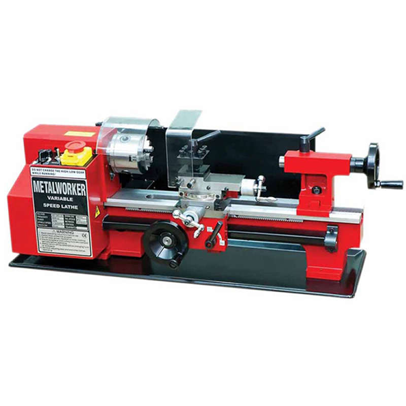 Minitype C2 mini lathe CJ9518-C2 Household lathe multi-function CNC lathe, Ship to Russia no tax no tax to russia 3d cnc woodworking lathe work area 300 400mm with usb port and mach3 remote control