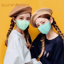 anti pollution dust mask cotton masks face black mouth fashion PM2.5 activated carbon filter anti-cold free Breathable
