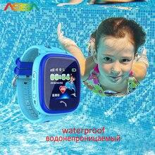 SmartWatch Беспроводные устройства Bluetooth часы GPS Смарт часы Водонепроницаемый часы сенсорный телефон часы GPS трекер для детей умные часы