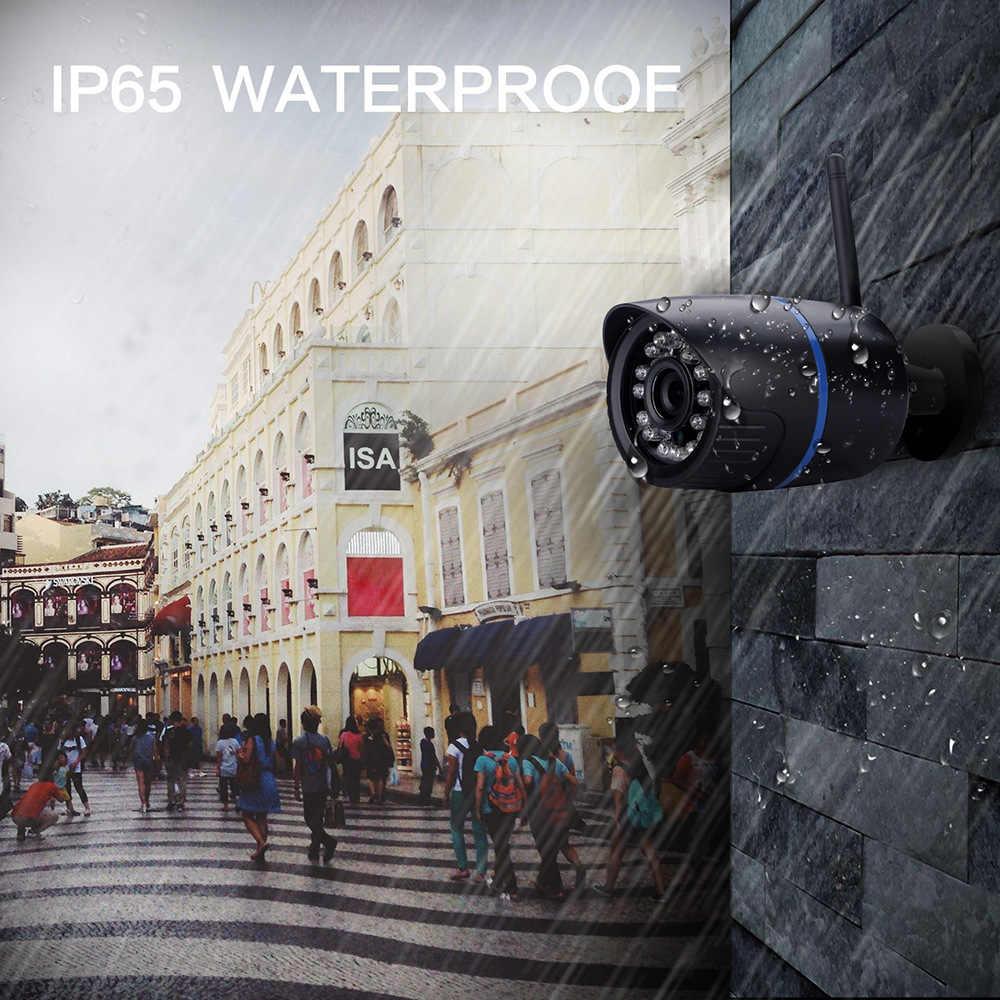 Wdskivi 2.0mp 1080P مقاوم للماء في الهواء الطلق كاميرا IP لاسلكية كاميرا أمان لاسلكية صغيرة رصاصة CCTV كاميرا مراقبة XMEye Onvif