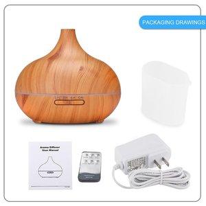 Image 3 - 550ML diffuseur darôme électrique humidificateur dair à ultrasons lampe à LED aromathérapie brumisateur télécommande diffuseur dhuile essentielle